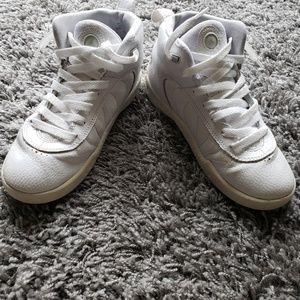 Jordan Shoes - All White Jordan Jumpman Sneakers
